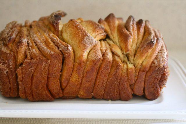 Cinnamon Sugar Bread: Brown Sugar, Cinnamon Rolls, Sugar Pull Apartment, Cinnamon Breads, Cinnamon Sugar Breads, Pull Apartment Breads, Monkey Breads, Pullapart Breads, Breads Rolls