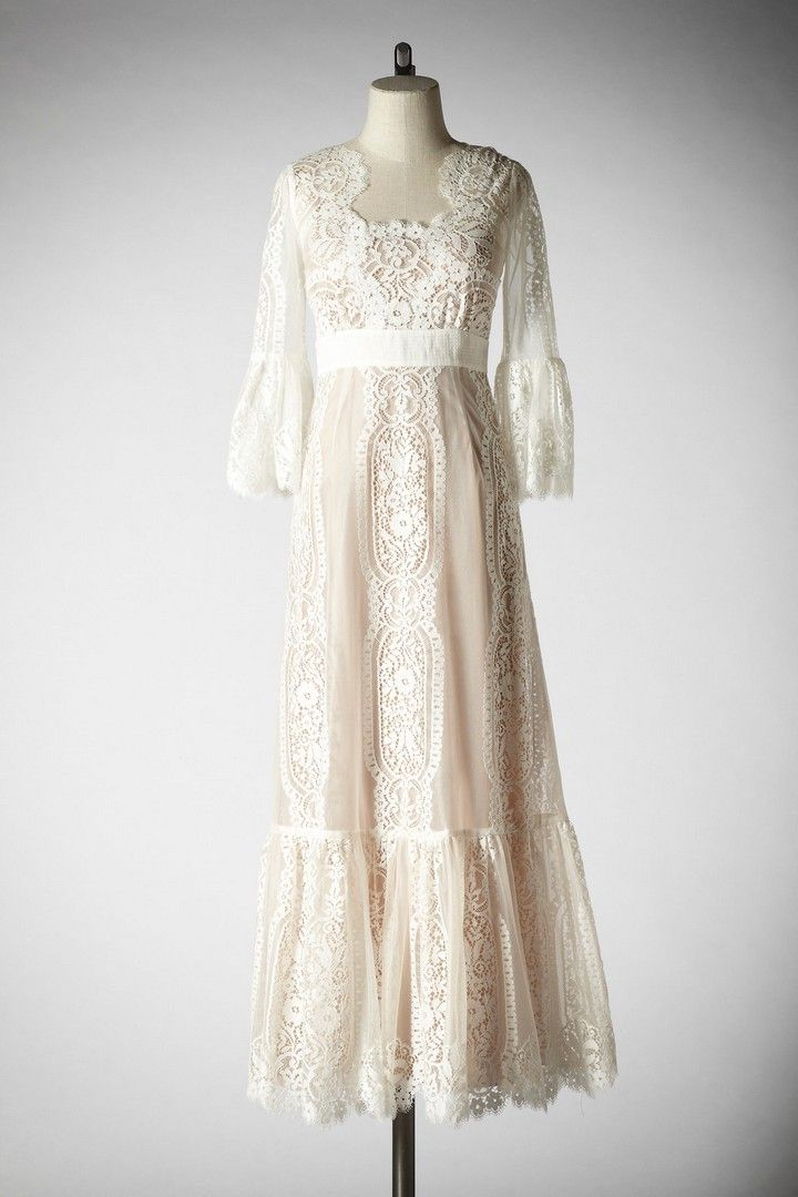 ALMOST EXACTLY WHAT I WORE IN 1972: Bridal Style: BHLDN's 2013 Spring Collection (oooh, this is like the dress I wore at my hippie wedding! wish I had a photo)