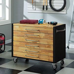 Mobile Tool Storage Box   Or Kitchen Island