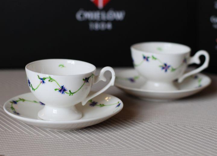 Ewa espresso cup hand painted Filiżanka Ewa espresso ręcznie malowana