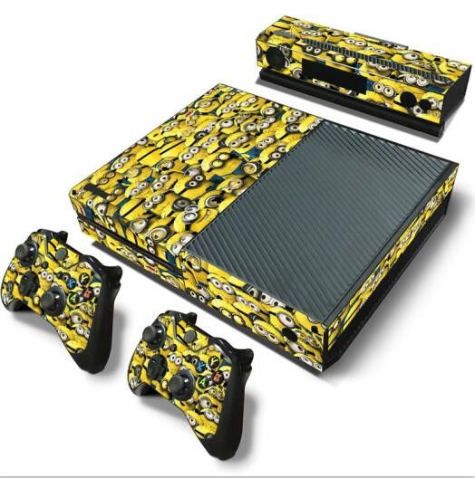 Share with someone who would love this! :)  http://www.hellodefiance.com/products/minionaire-skin-xbox-one-protector?utm_campaign=social_autopilot&utm_source=pin&utm_medium=pin