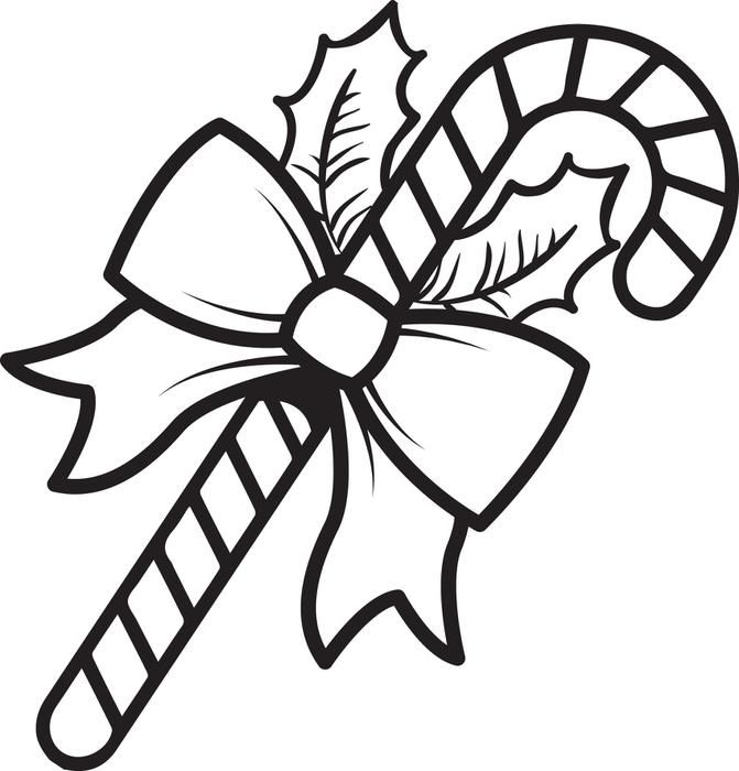 15 candy cane coloring pages printable | Candy cane ...