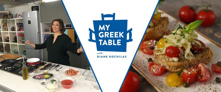Diane Kochilas Sets the Greek Table on US Public Television
