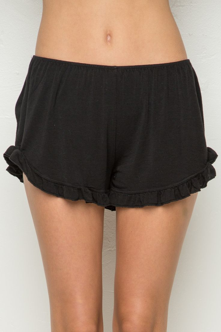 Brandy Melville Black Corduroy Shorts. Very pretty and in good condition. New with Tags, One Size.