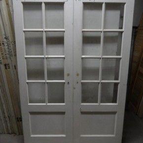 Paneeldeuren met Glas Nr 537