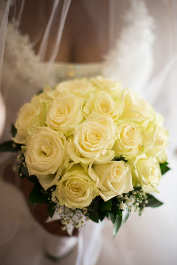 Bride's bouquet by Evelyn Rampola Photography