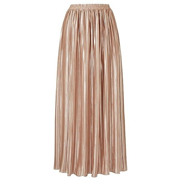 PLEATED MAXI SKIRT | SimplyBe US Site ($60) ❤ liked on Polyvore featuring skirts, beige maxi skirt, maxi skirts, beige long skirt, long pleated skirt and ankle length skirt