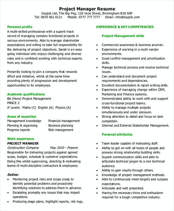 The 25+ best Project manager cover letter ideas on Pinterest - example of management resume
