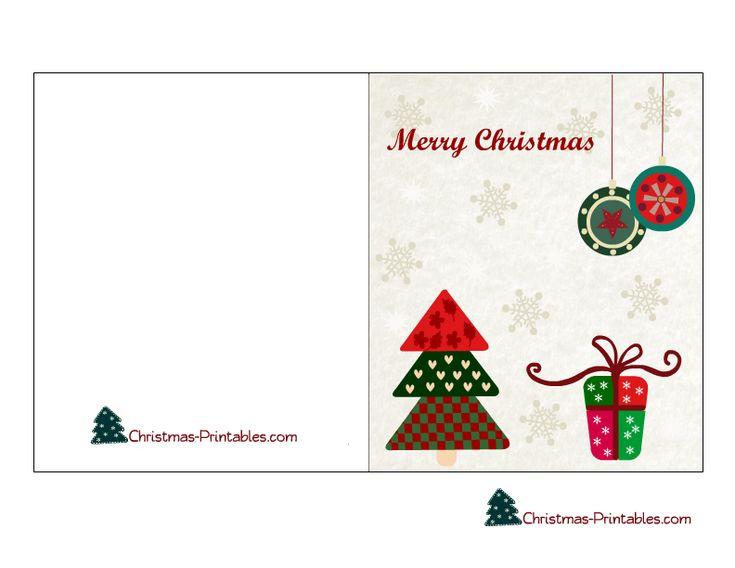 printable christmas postcards