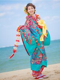 沖縄で結婚式を挙げるなら着たい、琉球衣装。沖縄での結婚式一覧♡ウェディング・ブライダルの参考に♡