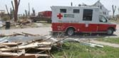 Red Cross tornado info - includes checklist and app for iPhone and Android.
