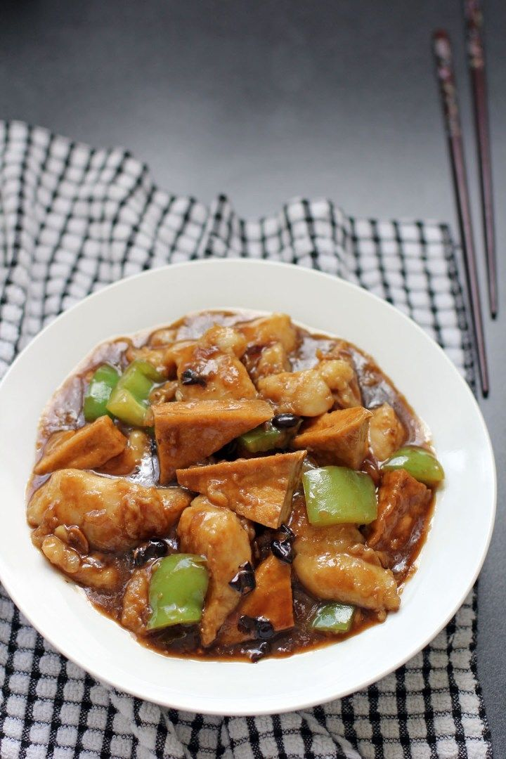 17 best images about food in china on pinterest beijing for Fish in black bean sauce
