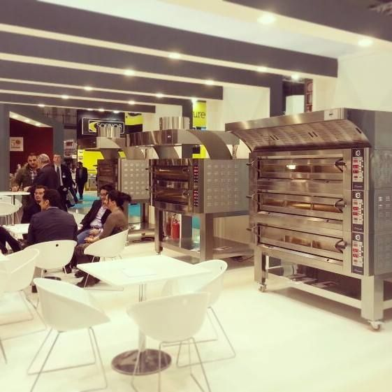 Cuppone ovens on display in Italy