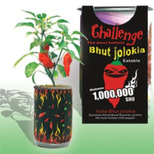 Bhut Jolokia Ghost Chili - The Hottest Chili Pepper in the World!