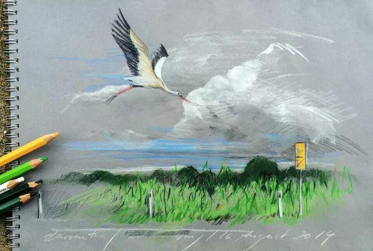 Jens Hubner - above the cornfield