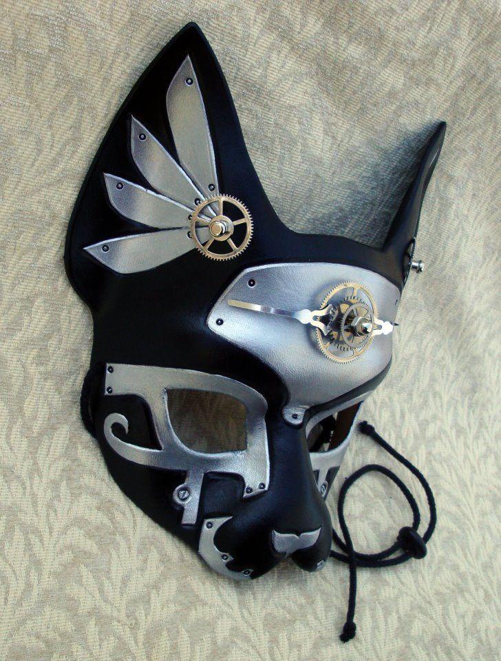 (3) Facebook... steampunk mask