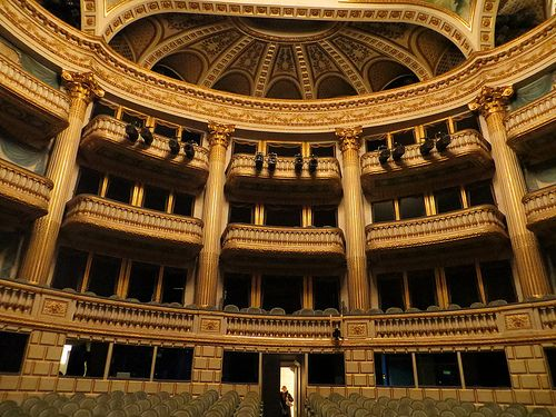 Grand Theater - This 18C neo-classical theater is considered one of the most beautiful in France.
