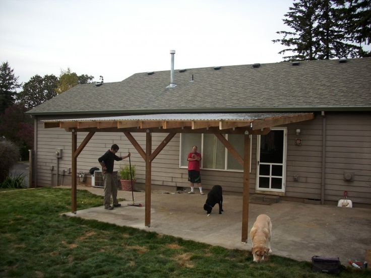 Best 25+ Patio roof ideas on Pinterest : Outdoor pergola, Backyard patio and Covered patios