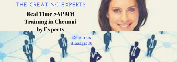 Best #SAP #Mm Training in #Chennai with #Placement Support Contact us:8122241286 http://bit.ly/1TamQBK