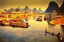 Li River, China - incredible and magical
