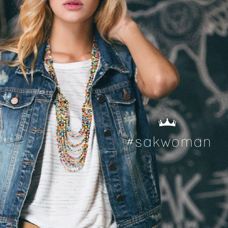 El chaleco en denim es ideal para complementar tu look de verano! #sakdenim #denimvest #sakwoman #ilovesak #newarrivals #nuevacoleccion #denim #denimfordays #outfit #summer #shop #fashion #dailyfashion #jeanswear #girls #denimworld #womanstyle #musthave #essentials #look #tendencia #womanswear #apparel #moda