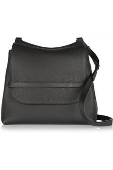 The Row Sideby textured-leather shoulder bag | NET-A-PORTER