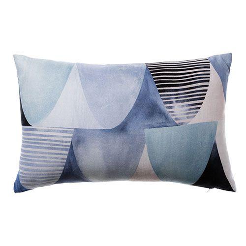 Riviera Long Cushion Scallop Ocean