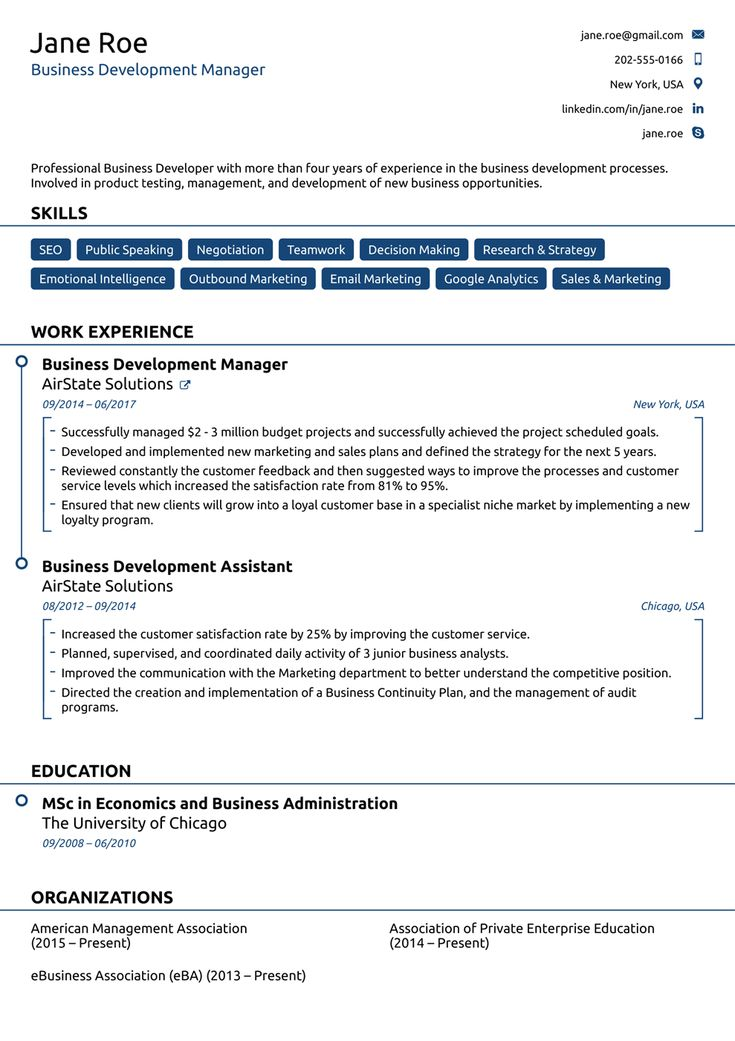 Free Resume Templates For 2020 [Download Now] inside