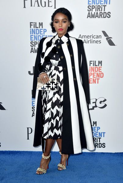 Janelle Monae Photos - Singer/actress Janelle Monáe attends the 2017 Film Independent Spirit Awards at the Santa Monica Pier on February 25, 2017 in Santa Monica, California. - 2017 Film Independent Spirit Awards  - Arrivals