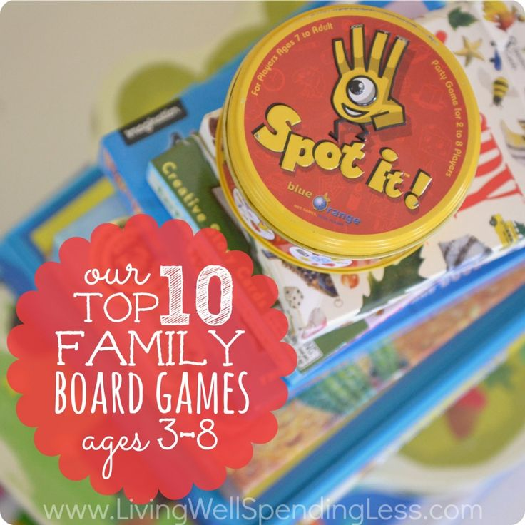Top 10 family board games