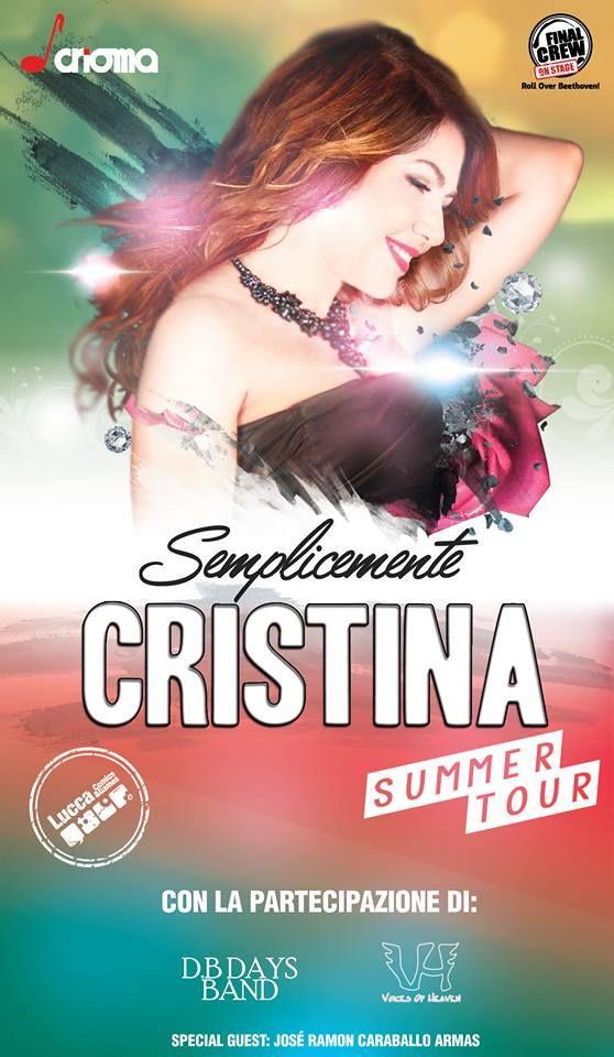 Semplicemente Cristina: pronte le date del nuovo e atteso tour di Cristina D'Avena