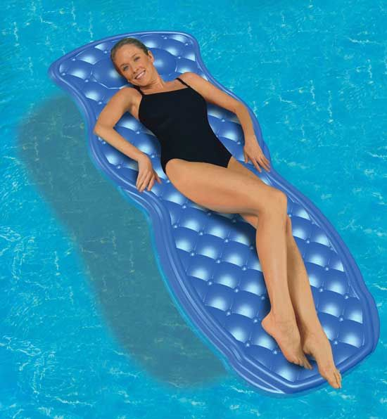 65 best images about pool loungers floats on pinterest - Swimming pool floating lounge chairs ...