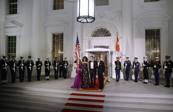 Michelle Obama Photos - President Obama Hosts Canadian PM Trudeau On His Official Visit To Washington - Zimbio