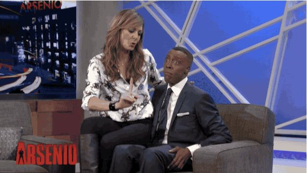 "The West Wing nerd in me just rejoiced! Allison Janney Performed ""The Jackal"" On The Arsenio Hall Show"