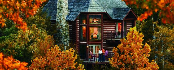 Private log cabins branson missouri resorts big cedar for Cabins near branson mo