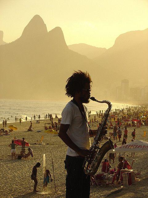 Cena Carioca by Cristiano Monteiro, Ipanema Beach, Rio de Janeiro, Brazil via Flickr