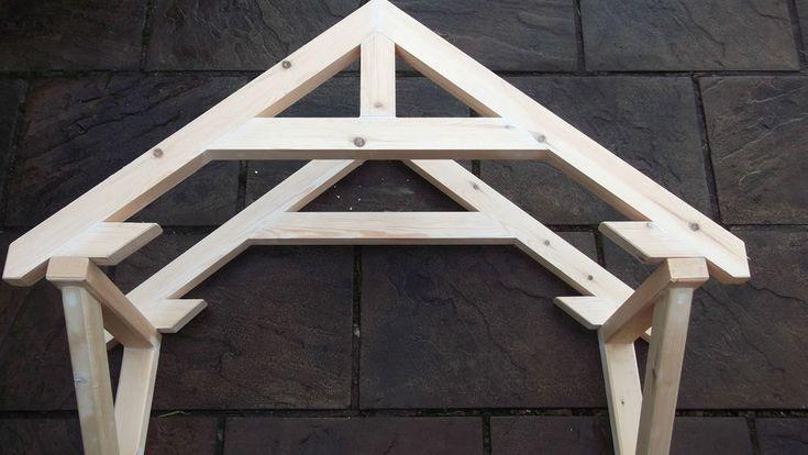 Reduced Wooden Timber Front Door Canopy Door Canopy Canopy