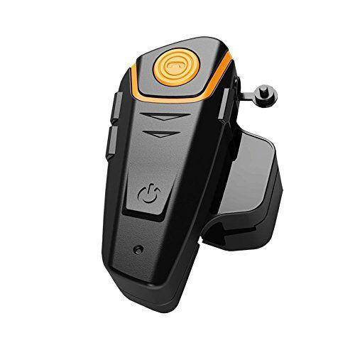 Veetop Motorrad / Ski / ATV Helm Interkom Bluetooth Multi Interphone Gegensprechanlage Sprechanlage 1000M - motorradhelm intercom (1 Set/UK-Ladeger�t)