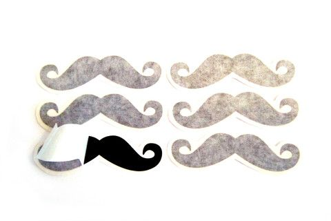 Moustache Decal 4pk – Dirty Lola's
