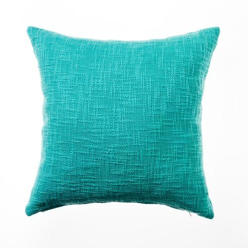Add a pop of colour to any room with the mint Arkana cushion from Home Republic. 45x45cm $28 like the texture