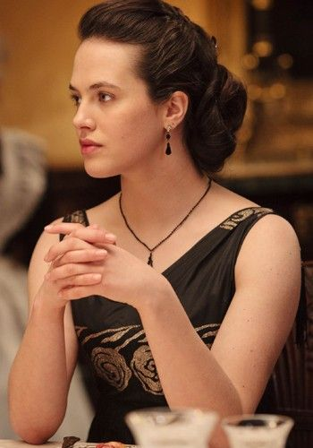 "Lady Sybil Crawley  ""No one ever learned anything from a governess except for French, and how to curtsy."""