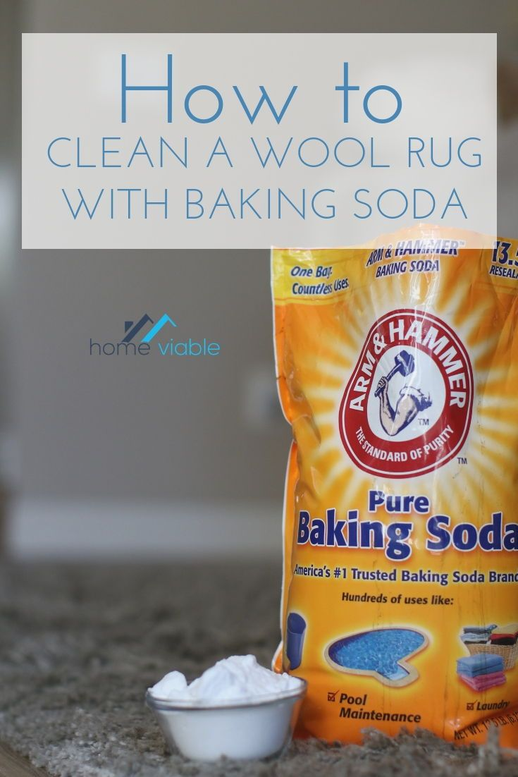 How To Clean And Care For A Wool Rug Utilizing Baking Soda Clean