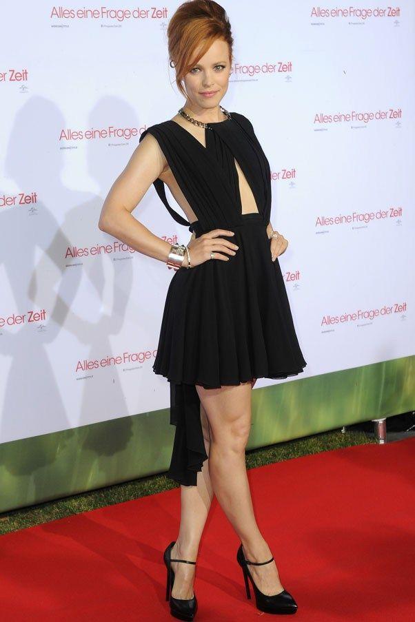 "Rachel McAdams in Yves Saint Laurent (2013 Munich premiere of ""About Time"")"