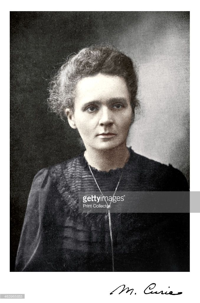 Marie Curie, Polish-born French physicist, 1917. Marie (1867-1934) and her husband Pierre Curie continued the work on radioactivity started by Henri Becquerel. In 1898, they discovered two new elements, polonium and radium. Marie did most of the work of producing these elements, and to this day her notebooks are still too radioactive to use. She went on to become the first woman to be awarded a doctorate in France, and continued her work after Pierre's death in 1906. In 1903 the Curies…