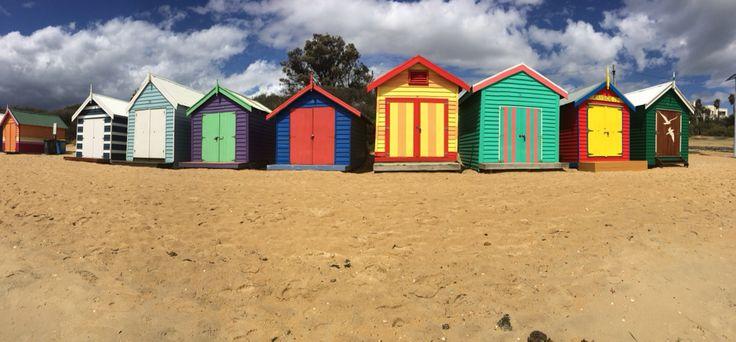 Beach Boxes, Brighton Beach, Victoria