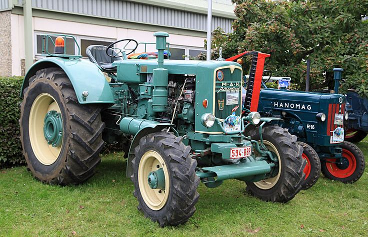 Swiss tractors - Man