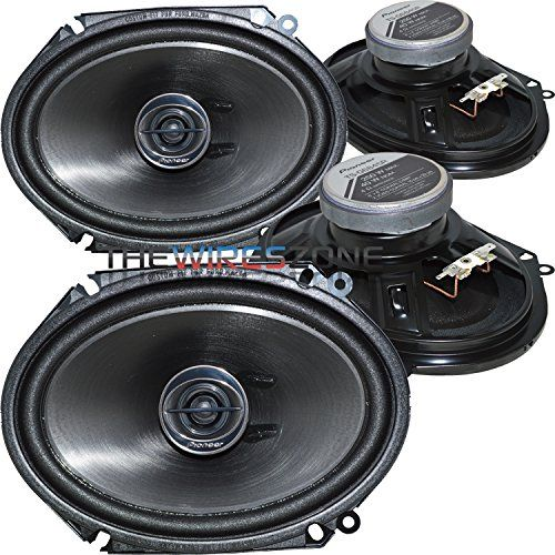 """Pioneer TS-G6845R 2-Way 6"""" x 8"""" or 5"""" x 7"""" 500W Car Speaker (2 Pairs) 6x8 5x7 with FREE Shipping    #carscampus #sale #shop #cars #car #campus"""