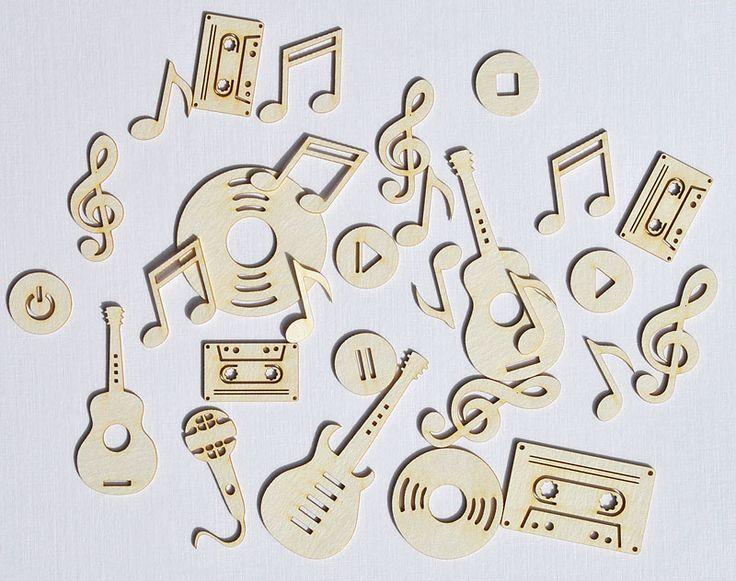 Chipboard mini | Pop Rock - Scrapfellow