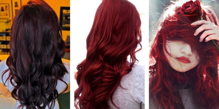 Deep Red Hair Colors - Best Color Hair for Hazel Eyes Check more at http://frenzyhairstudio.com/deep-red-hair-colors/