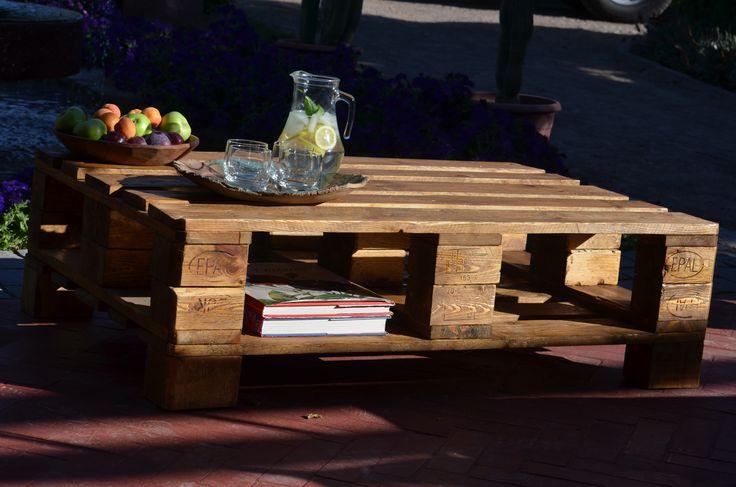 mesa de centro de Ecopalet
